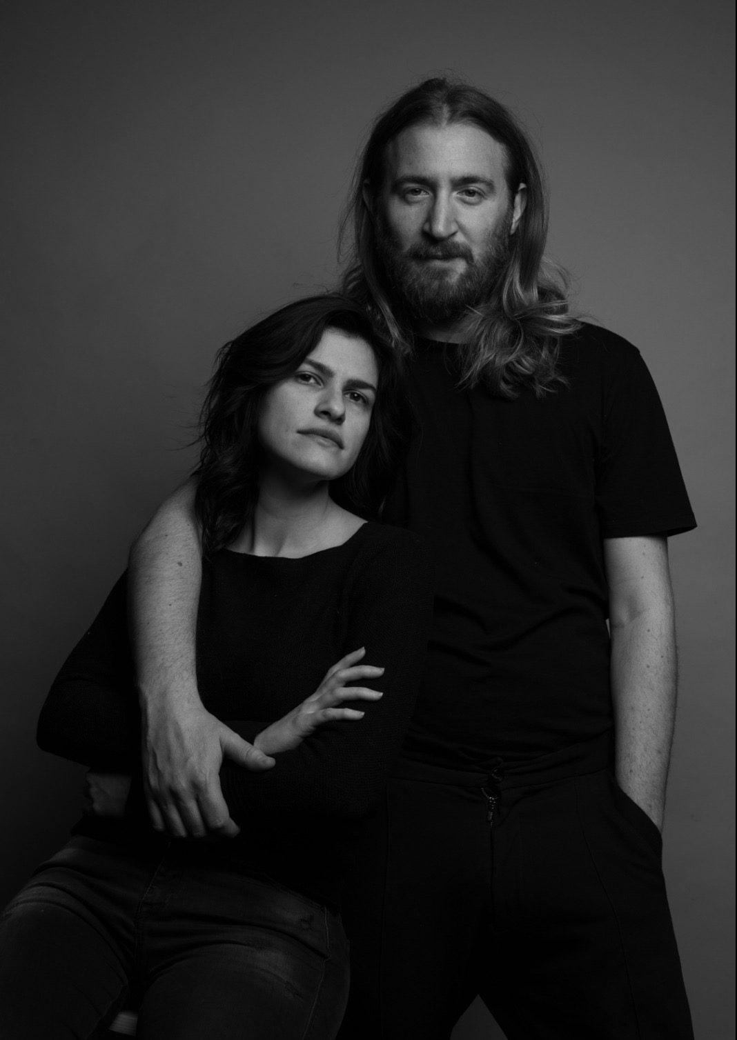 abio e Stefania Biancamaria22 bianco e nero parrucchieri milano 2